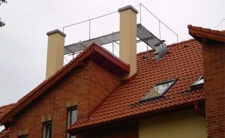 Tetőjárda építés
