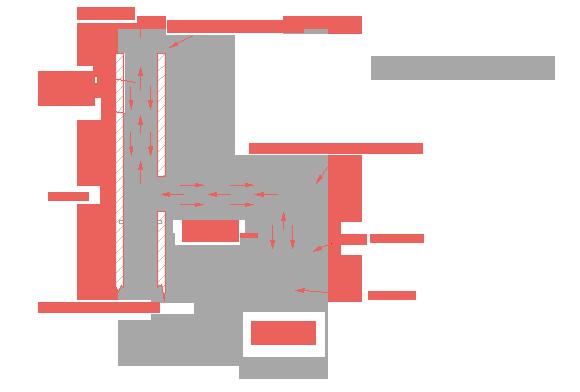 Kondenzációs kémény (koncentrikus, cső a csőben megoldás)